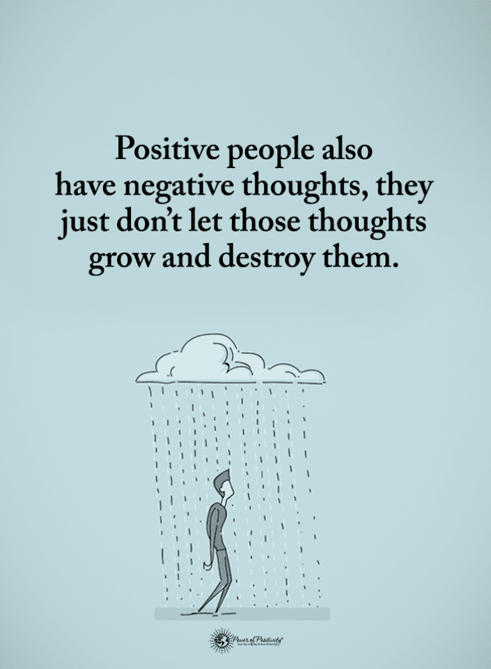 Negative Thoughts Quotes, Quotes,