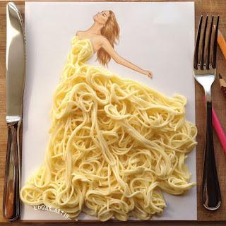 שמלה מספגטי