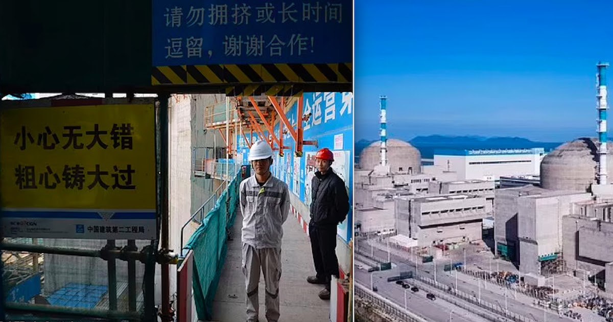 Chinese Nuclear Power Plant Leak Near Hong Kong Is Posing 'Imminent Radiological Threat'