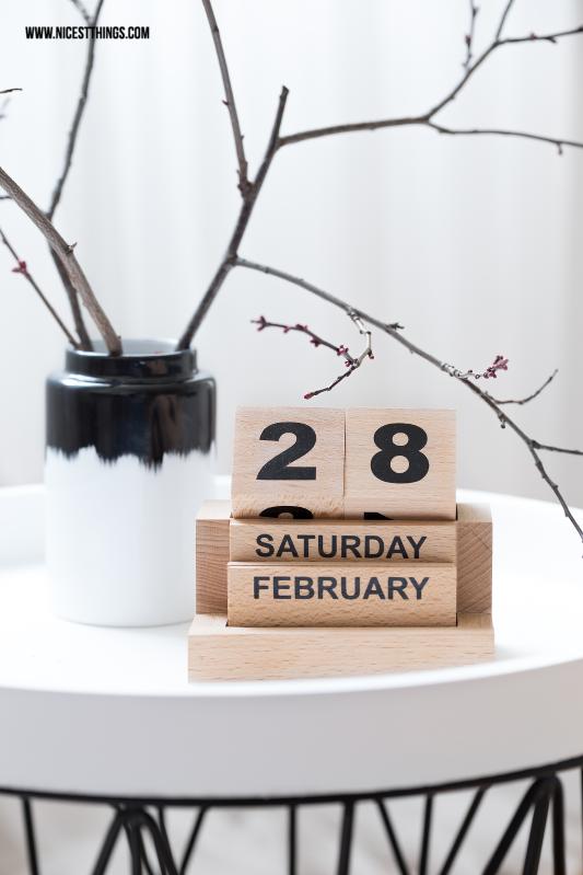 House Doctor Würfelkalender Holz ewiger Kalender #housedoctor #kalender #holzwürfel #ewigerkalender