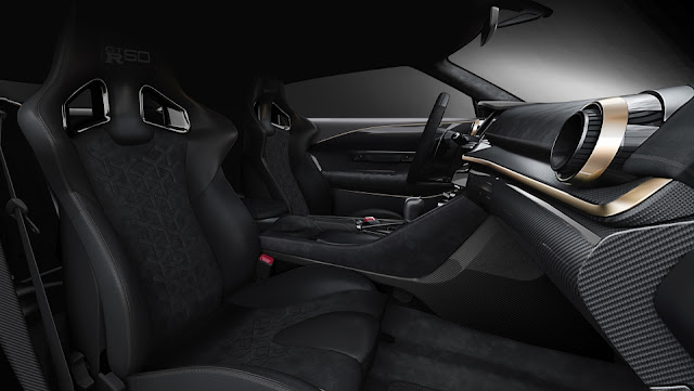 Nissan desenvolve GT-R50 junto com a Italdesign