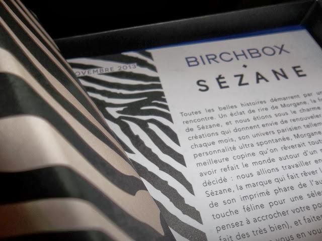 Birchbox - Novembre 2013