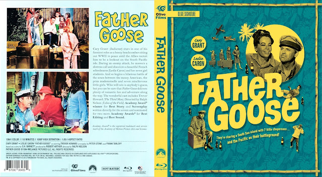 Father Goose Signature Edition Bluray Cover