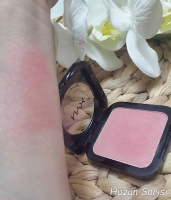 NYX Definition Blush swatches