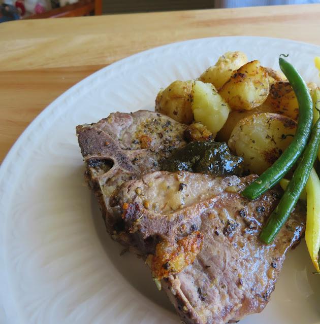 Lamb with Lemon, Mint & Potatoes