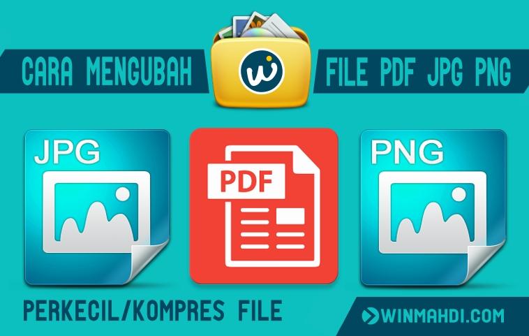 Cara Mengubah Ukuran File PDF JPG PNG Online