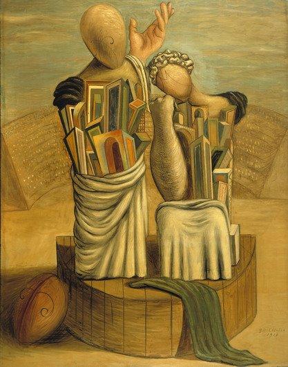 Pittura senza titolo - di Giorgio De Chirico
