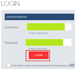 Reliance Mutual Fund - Login