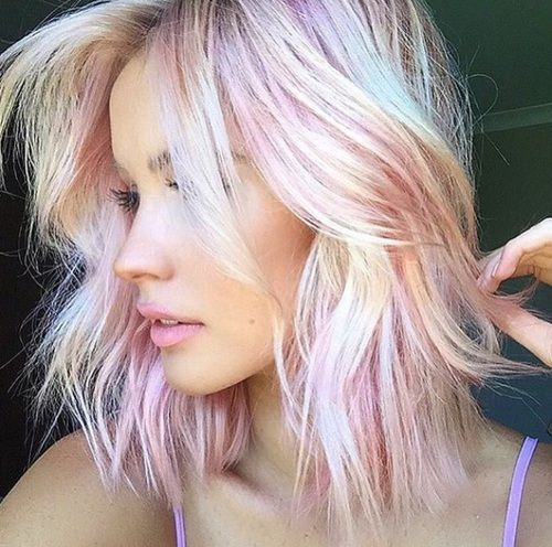 Top 10 Colorful Hair Styles For Gorgeous Girls Funny Pictures