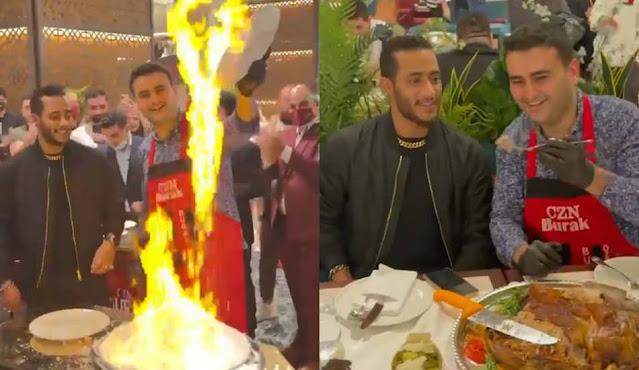بوراك ومحمد رمضان