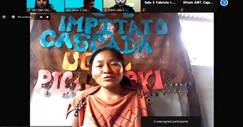 MINEDU: Por primera vez una niña asume la presidencia del Tinkuy