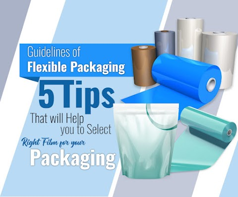 Guidelines of Flexible Packaging: 5 Tips That Will Help You Select The Right Film For Your Packaging