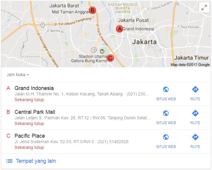 Cara Menampilkan Bisnis gi google