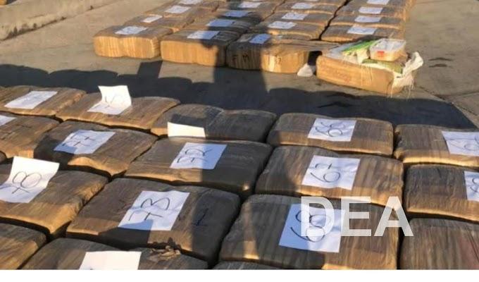 Két és fél tonna drogot próbáltak becsempészni az Egyesült Államokba a mexikói kereskedők