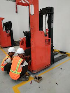 8 Sebab Kerusakan Forklift