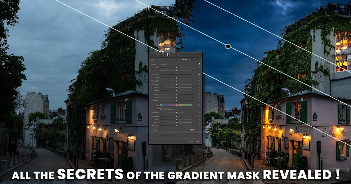 5 tips you must KNOW when using the GRADIENT FITER in Lightroom