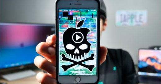 Si abres este video tu iPhone se bloqueará totalmente