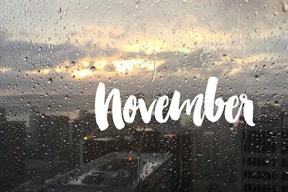November : Rindu, Kamu, Kenangan