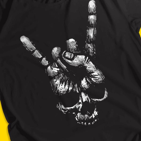 diseno skull hand