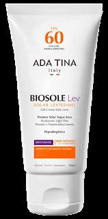 Protetor solar Ada Tina Bisole Lev