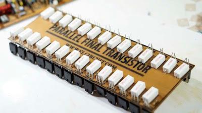 Parallel final transistor NJW0302 NJW0281