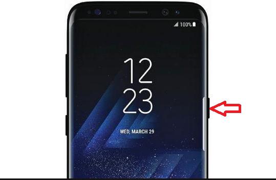 Restablecer de datos de fábrica Samsung Galaxy S8 / S8+