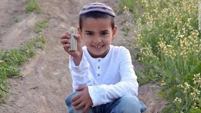 Anak 7 Tahun Menemukan Patung Berumur 3400 Tahun di Israel