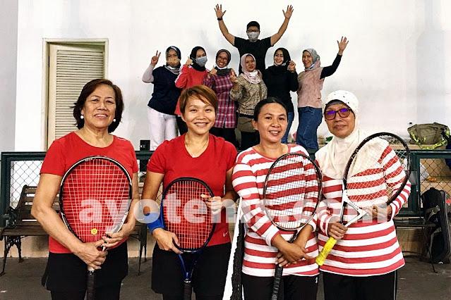 Inilah Para Finalis Turnamen Tenis Baveti Araya-Sier Surabaya Cup I tahun 2020