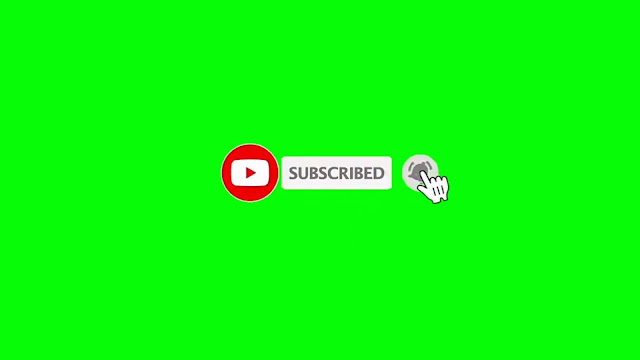 Top 5 Green Screen Animated Subscribe Button Free Download, No Copyright