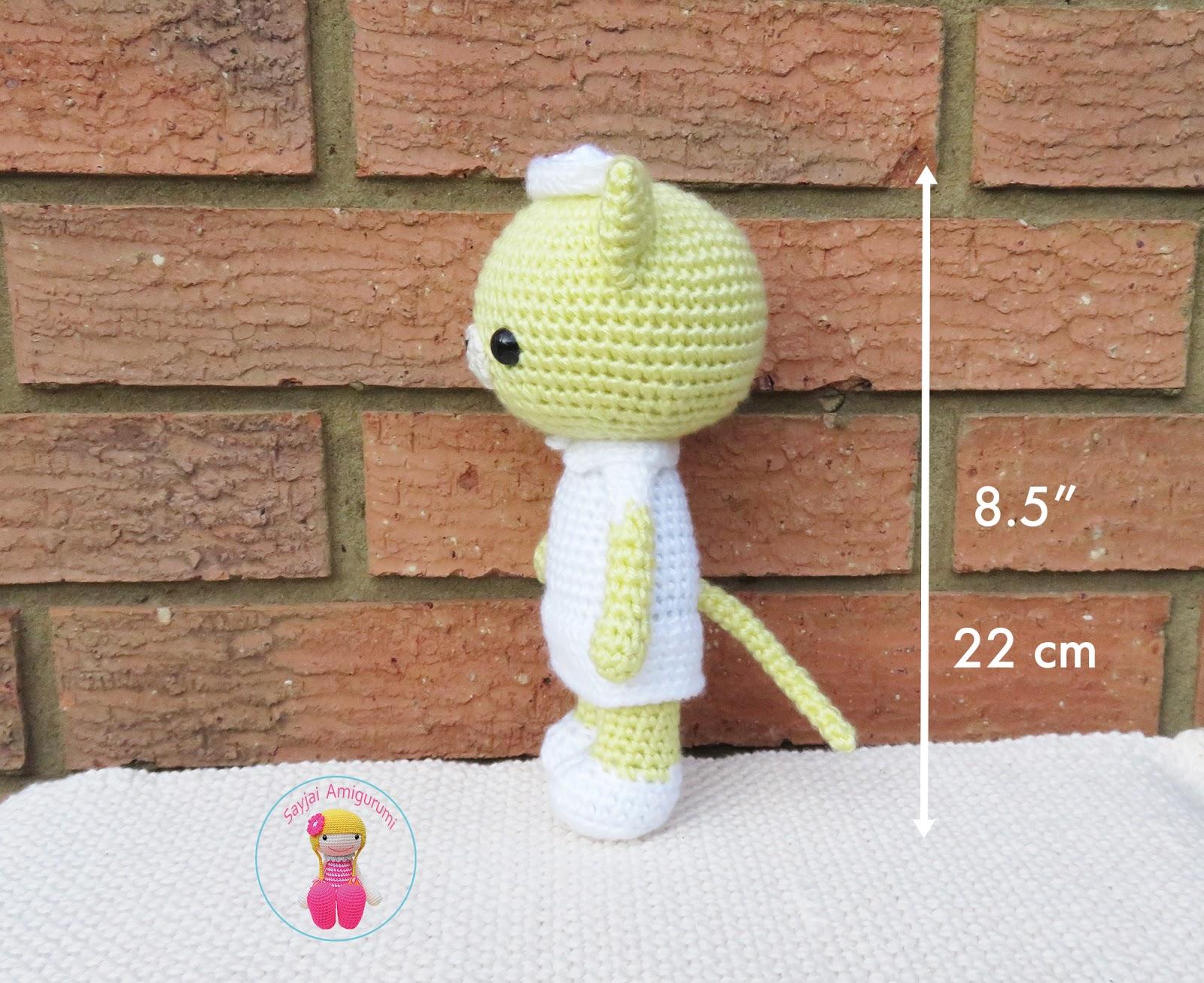 Amazon.com: Nurse Jazzy Amigurumi Crochet Pattern eBook ... | 1306x1600