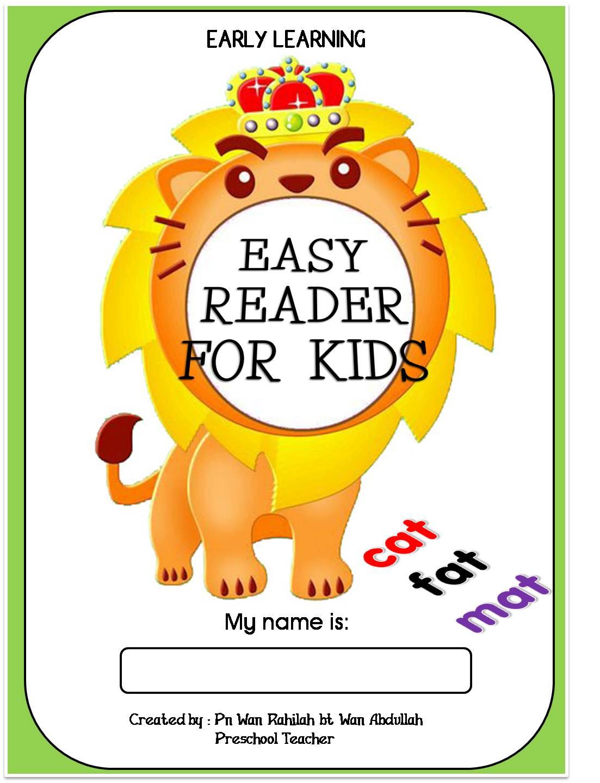 Cikgu Eela Il Preschoolers Pce Easy Reader For Kids