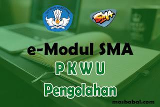 Download E-Modul PKWU Pengolahan SMA Tahun Ajaran 2021-2022. E-Modul Pembelajaran PKWU Pengolahan SMA Tahun Ajaran 2021-2022