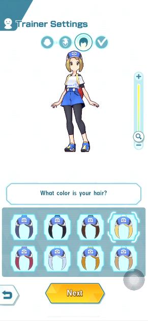 Pokemon Masters Avatar