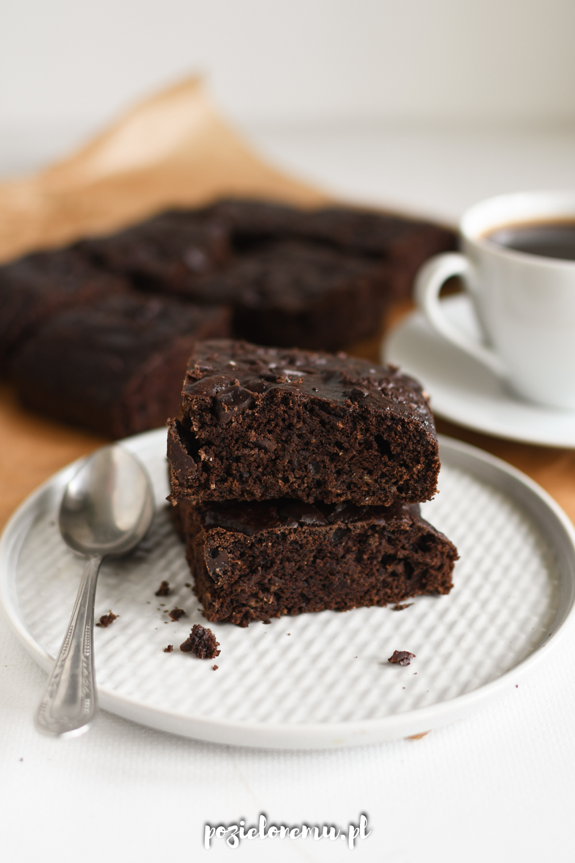 Wegańskie brownie z cukinią