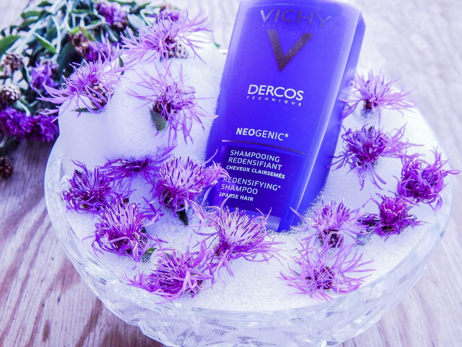 5 vichy laboratories dercos technique neogenic szampon unoszący i zagęszczający włosy recenzja opinie blog beauty lifestyle melodylaniella blogerki z łodzi blogerki łódzkie urodowe włosowe