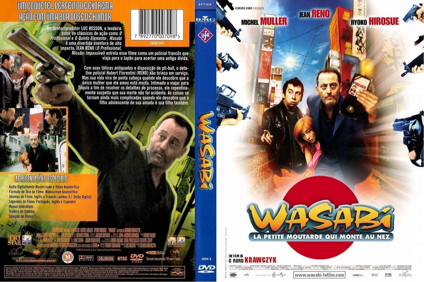 Capas Filmes Policial: Wasabi