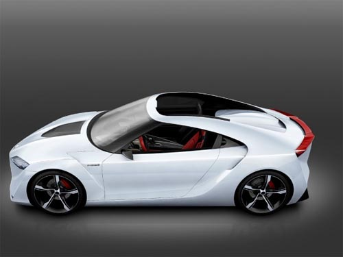 New Modification Toyota Ft Hs Concept Luxury Car Design New Car