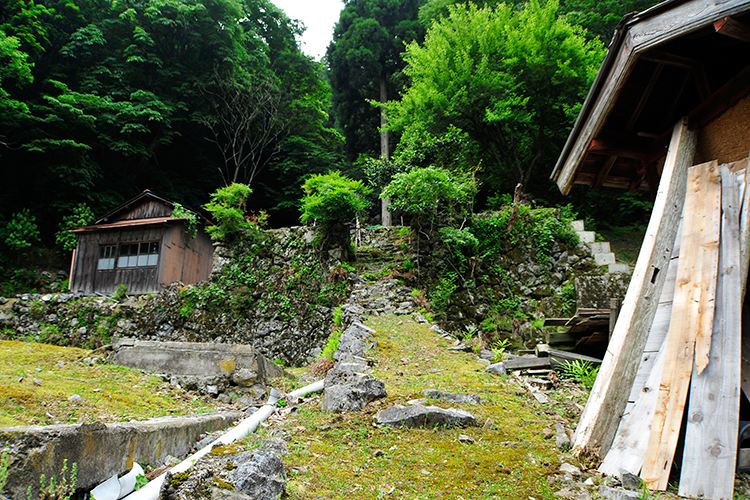 スゴログ 入谷集落 廃村