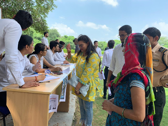 AMITY UNIVERSITY HARYANA - VOTING RIGHTS: BALLOT IS STRONGER THAN THE BULLET