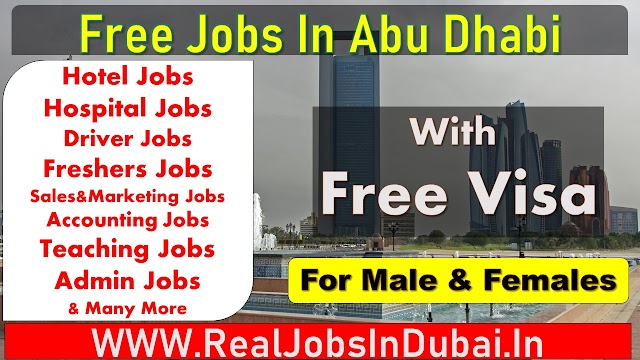 Jobs In Abu Dhabi - UAE