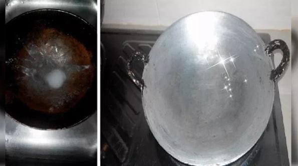 6 Barangan Dapur Yang Boleh Digunakan Untuk Cerahkan Semula Kuali Berkerak Supaya Nampak Bersinar Seperti Baru Beli