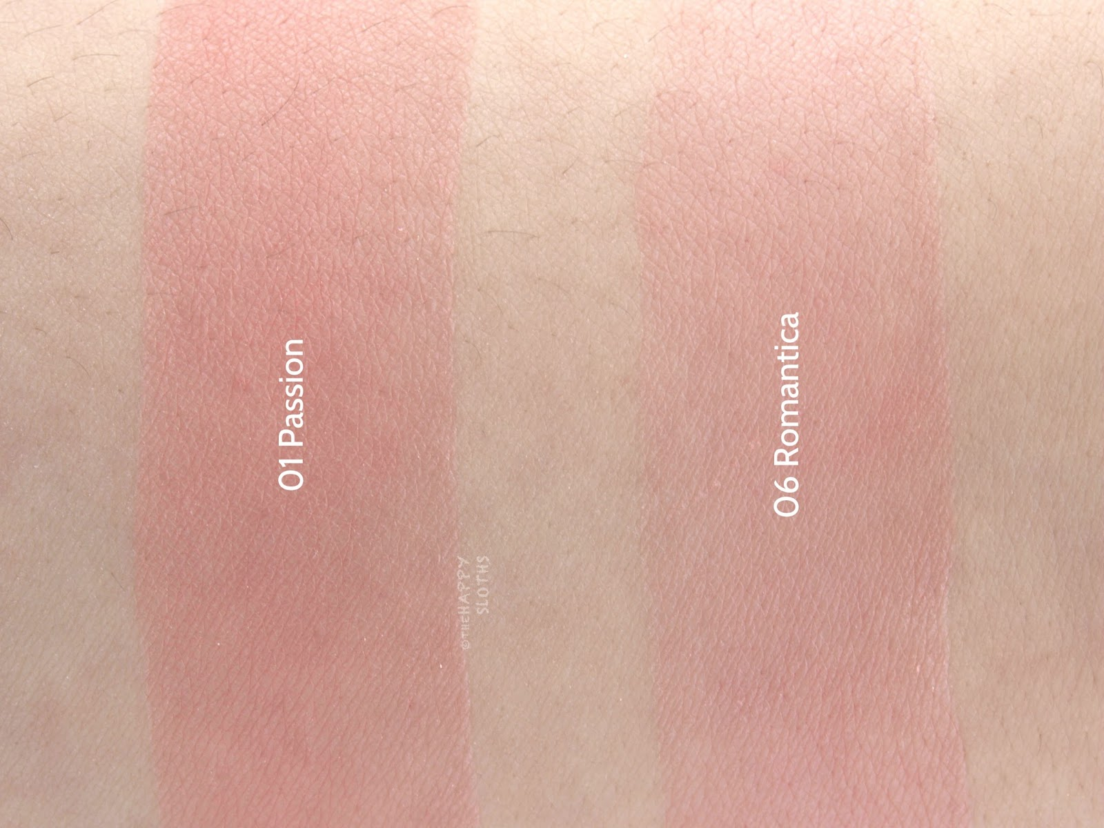 "Givenchy Prisme Blush Highlight & Structure Powder Blush Duo ""01 Passion"" & ""06 Romantica"": Review and Swatches"