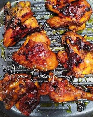 Lezat!! Resep Ayam Bakar Pedas Manis Kecap Bango Spesial