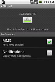 APNdroid - Free APN data access toggle for Android