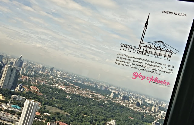 Observation Deck Menara KL bukan sekadar menara tinjau yang biasa...