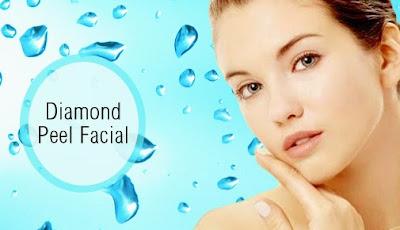 Facial Berlian Masker Diamond Kulit Kencang Halus Awet Muda