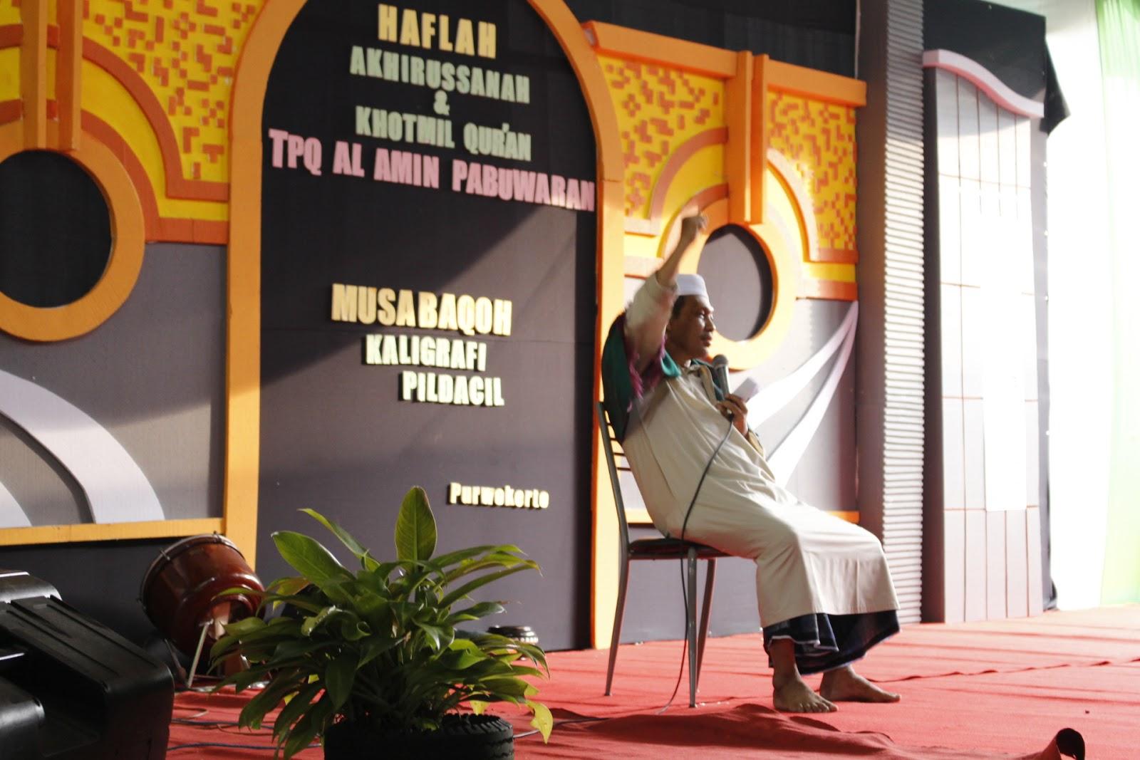 Khotmil Quran TPQ Al Amin Pabuwaran