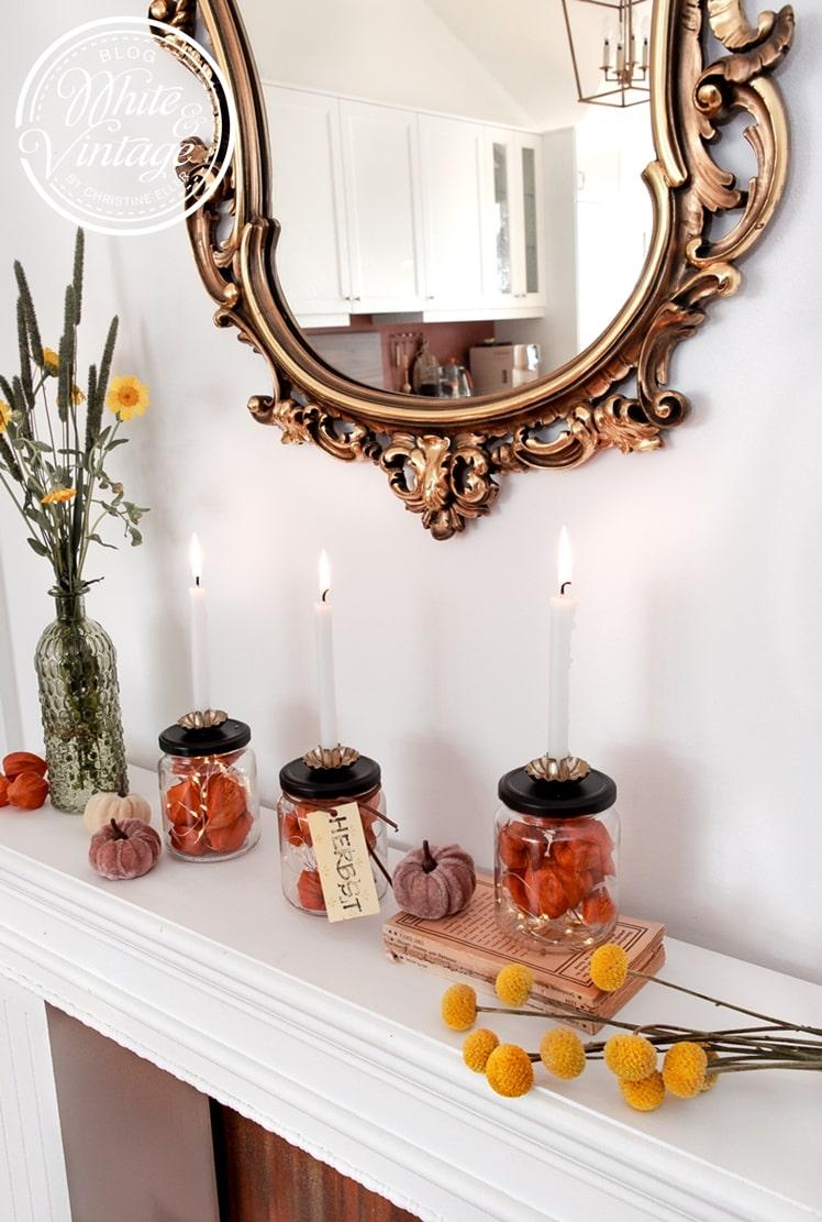 Herbstdeko Ideen zum Selbermachen
