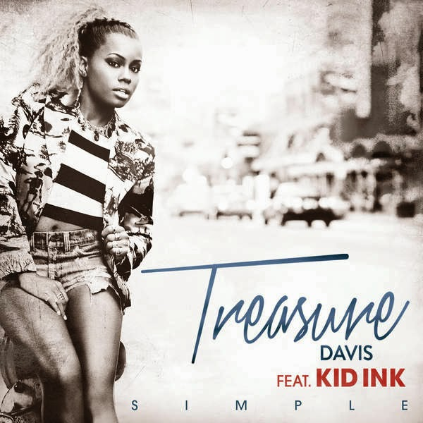 Treasure Davis - Simple (feat. Kid Ink) - Single Cover