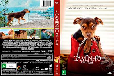 Filme A Caminho de Casa (A Dog's Way Home) DVD Capa